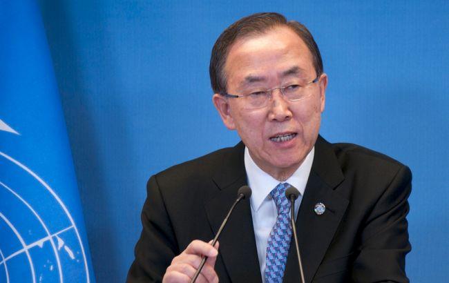 Фото: Пан Ги Мун высказался об ядерных испытаниях КНДР