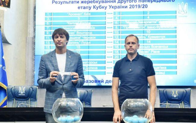 Відбулося жеребкування другого попереднього раунду Кубка України