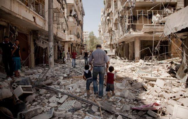 Фото: війна в Алеппо