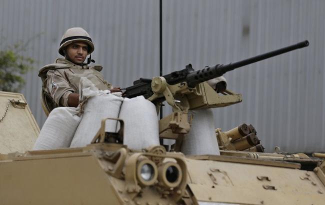 Фото: египеткий военный