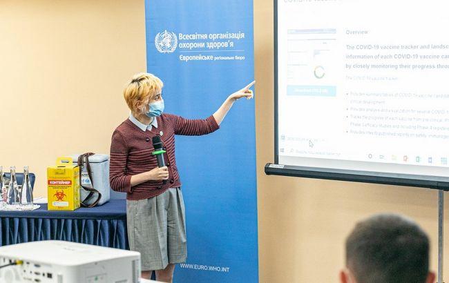 К вакцинации от COVID в Украине привлекут студентов. ВОЗ уже начала тренинги