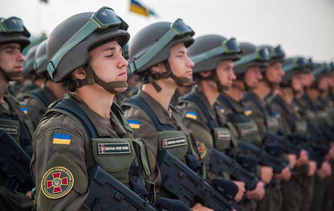 Фото: более 24 тыс. гвардейцев получили статус участника боевых действий