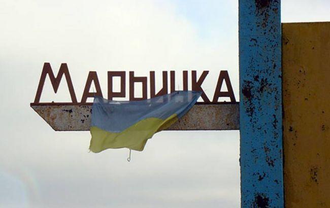 Фото: инцидент произошел в Марьинке Донецкой области