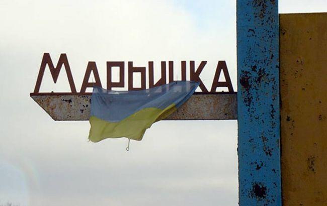 Двое людей в клинике — Боевики обстреляли Марьинку