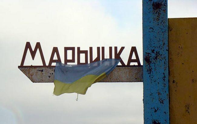 Фото: жителя Мар'їнки госпіталізували в лікарню Курахового