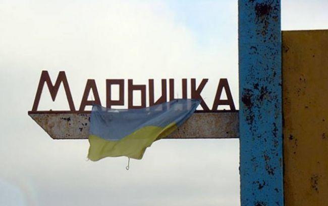 Фото: боевики продолжают обстреливать Марьинку
