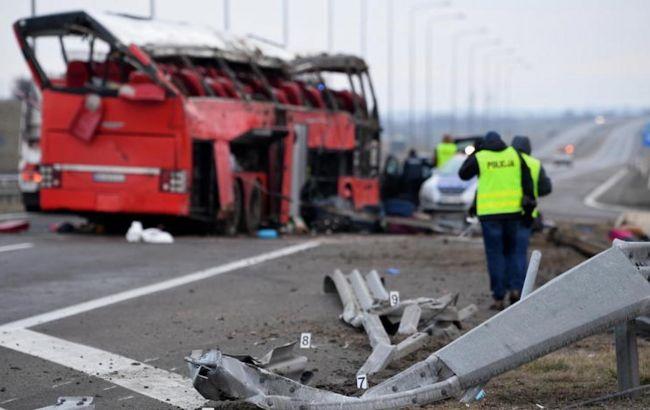ДТП с украинским автобусом в Польше: водителю предъявили обвинение