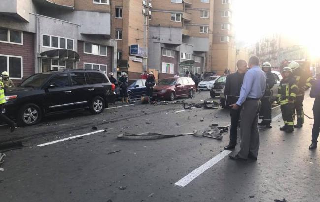 Вибух у Києві: у МВС назвали 3 основні версії злочину