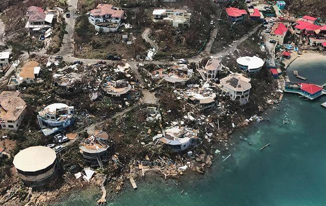 """Фото: последствия урагана """"Ирма"""" (facebook.com/RichardBranson)"""