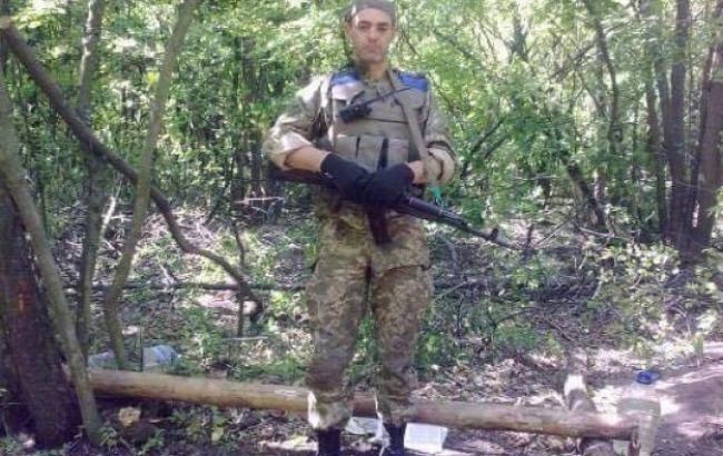 НаДонбассе умер боец Правого сектора