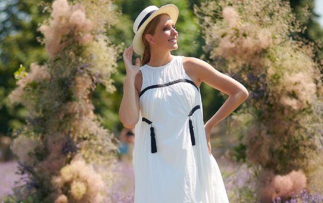 Как принцесса: беременная Осадчая похвасталась платьем-вышиванкой за 76 тысяч гривен