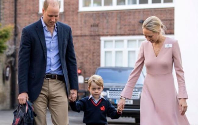 Маленькому принцу Джорджу спеціально вибрали прізвище для відвідування школи