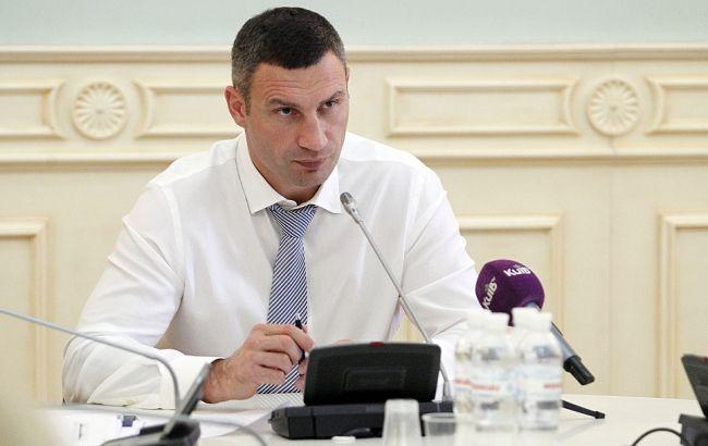Кличко пригрозил чиновникам за саботаж по выделению земли семьям погибших киевлян-участников АТО