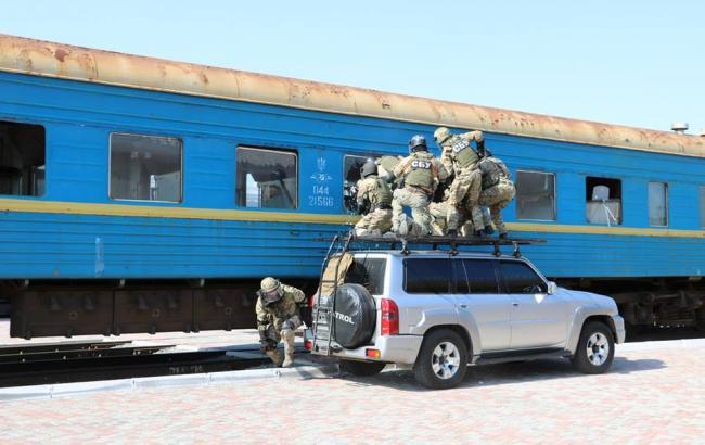 СБУ провела у Харкові масштабні антитерористичні навчання