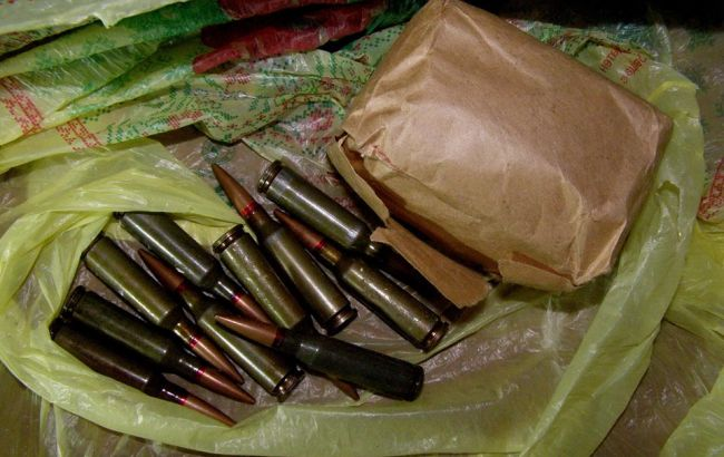 Фото: изъятые патроны (facebook.com/policesumy)
