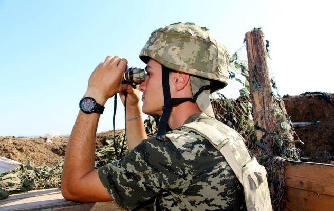 За добу в зоні АТО зафіксовано 35 обстрілів, втрат у ЗСУ немає