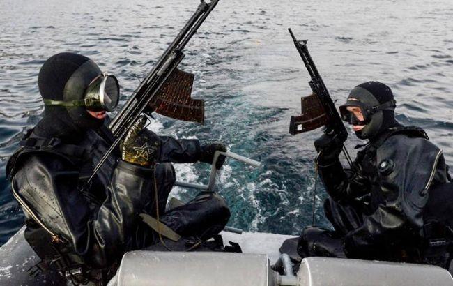 Фото: в России создадут отряд боевых дайверов