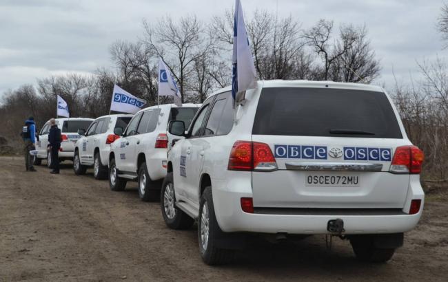 ОБСЕ: Ремонтные работы вАвдеевке прервали обстрелы боевиков
