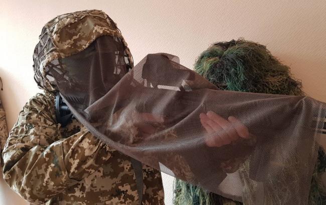 Украинские снайперы сменили маскировку