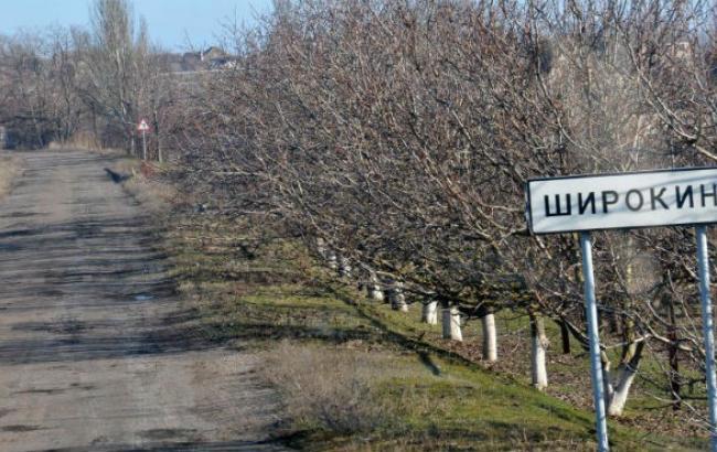 Силы АТО продолжают отбивать атаки боевиков на Широкино, - Минобороны