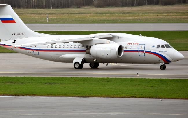 Фото: самолет с ГРУшниками вылетел в Россию