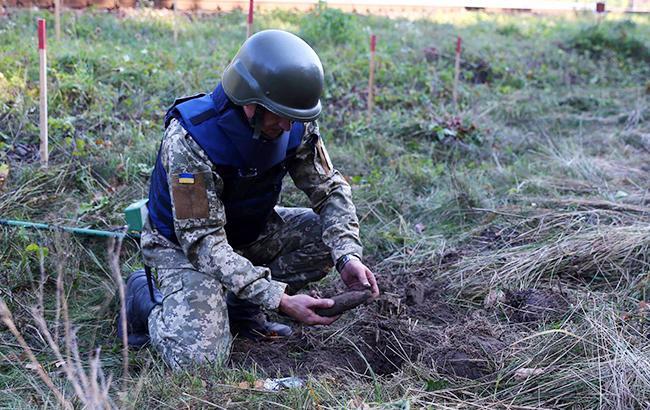 В Украине с начала года изъяли и уничтожили более 73 тысяч взрывоопасных предметов
