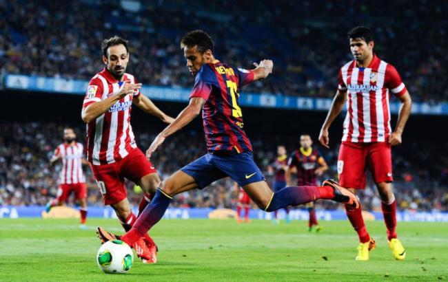 Фото: Атлетико - Барселона - онлайн
