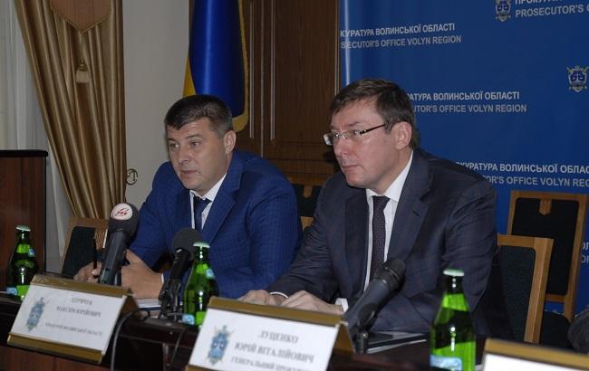 Фото: Юрій Луценко представив Максима Киричука колективу