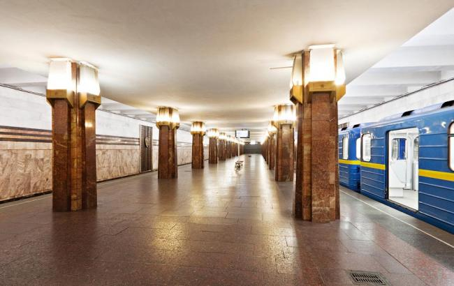 "Фото: Станция метро ""Героев Днепра"" (kiev24.ua)"