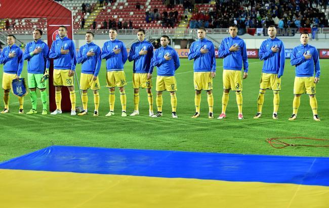 Сборная Украины потеряла 5 позиций в рейтинге ФИФА