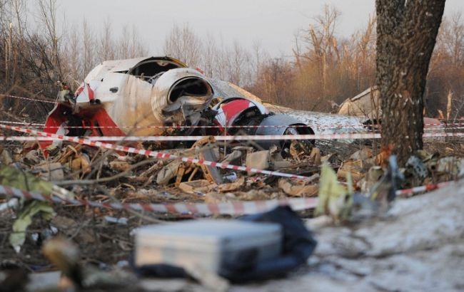 Фото: авиакатастрофа под Смоленском