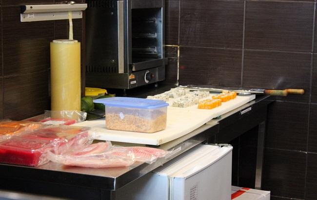 Фото: кухня столичного закладу громадського харчування (dpss.gov.ua)