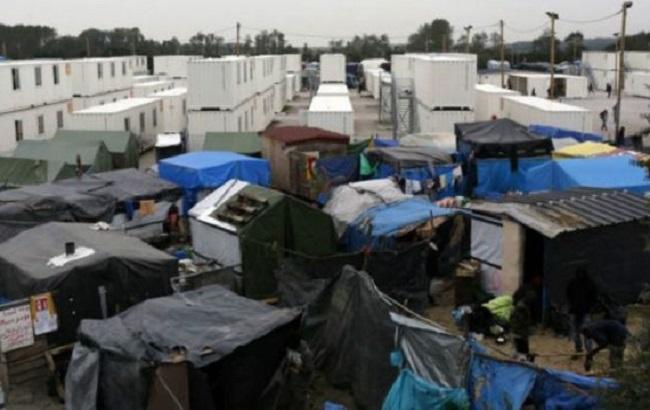 Фото: табір мігрантів у французькому Кале