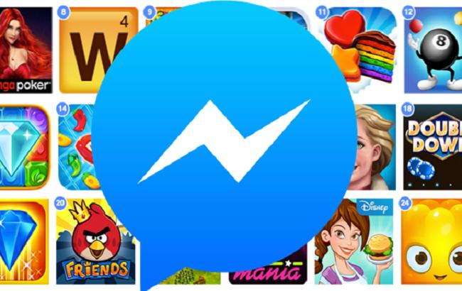 Фото: Facebook запустить ігри в Messenger