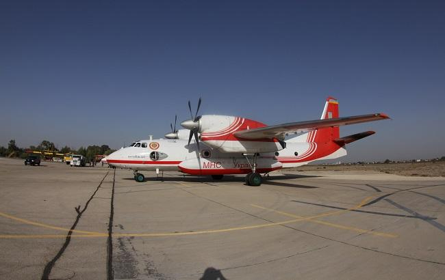 Фото: самолеты ГСЧС Украины в Израиле