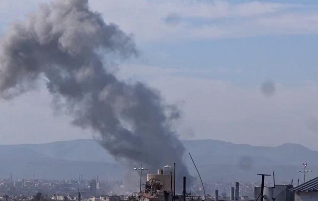 Фото: авиаудар по Ракке