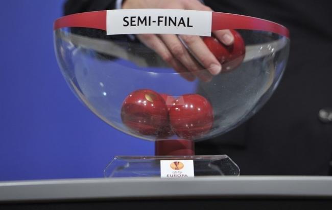 Фото: жеребкування Ліги Європи