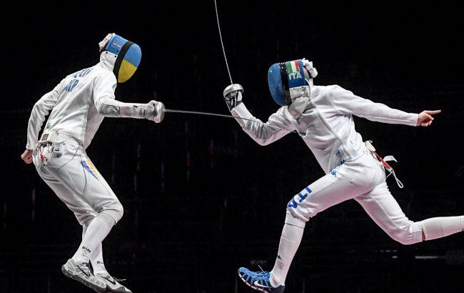 Українська чоловіча збірна з фехтування завершила участь в Олімпіаді на шостому місці