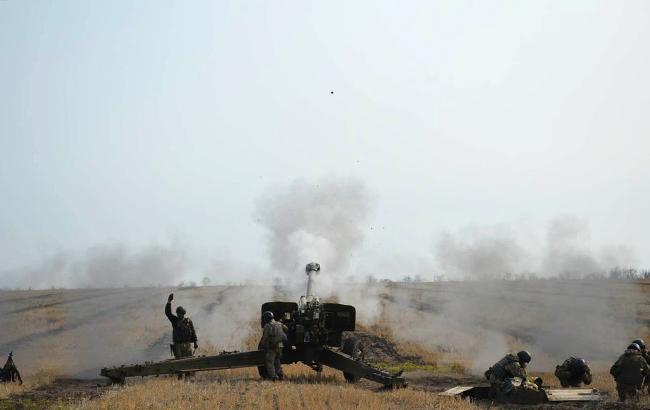 Взоне АТО задень потерь среди украинских военных нет