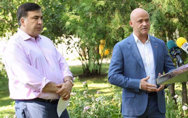 Саакашвили иТруханов: Евровидение-2017 должно проходить только вОдессе