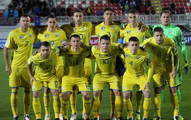 Украинская сборная проведет товарищеский матч против сборной Словакии