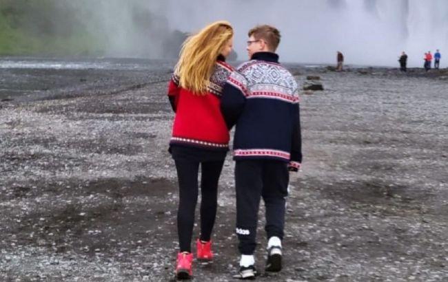 Водопады и ледник: Тина Кароль поразила эффектными видео с отпуска в Исландии с сыном