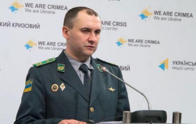 Фото: помощник главы Государственной пограничной службы Украины Олег Слободян
