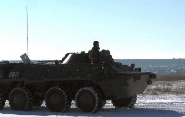Бойовики продовжують масований обстріл позицій сил АТО, - штаб