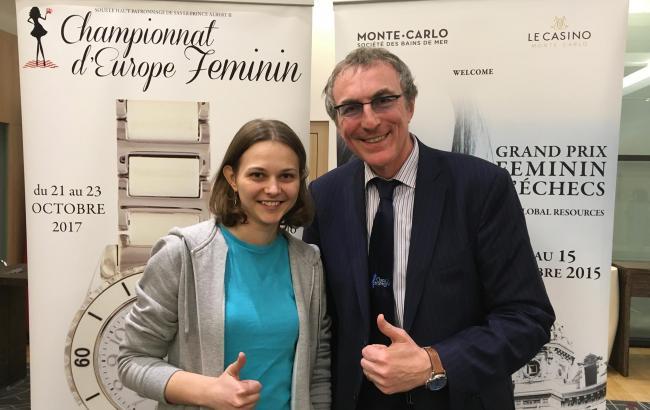 Анна Музычук выиграла чемпионат Европы побыстрым шахматам