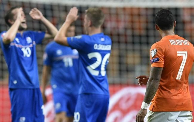 Евро-2016: Хорватия не справляется в Баку, а Голландия проигрывает Исландии