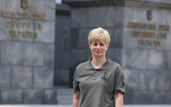 Жінка вперше очолила одне з командувань ЗСУ