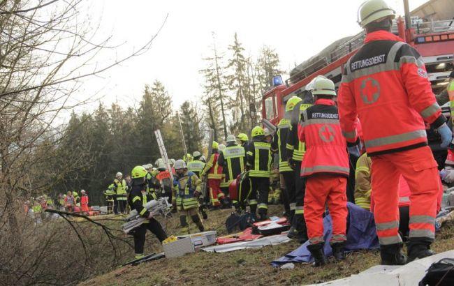 Фото: аварія в Німеччині