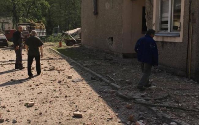 Фото: взрыв на пороховом заводе в Польше