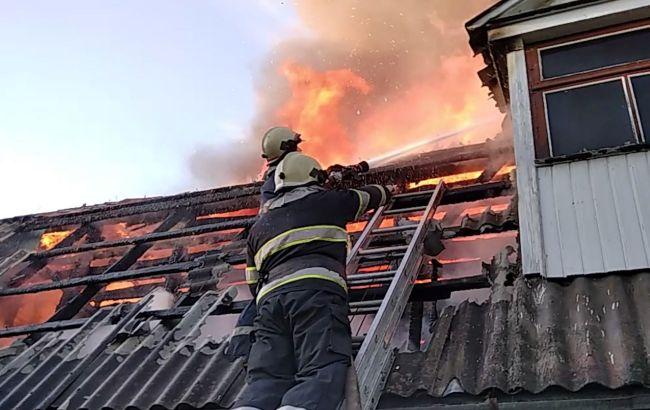 В Хмельницкой области горел женский монастырь